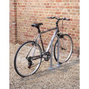 Mottez 2 supports vélos à platine ronds B143C2RON