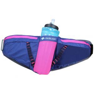Raidlight Porte bidons Activ 800 - Dark Blue / Pink - Taille One Size