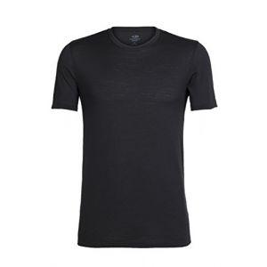 Icebreaker Tech Lite Crewe T-Shirt Homme, Noir, FR : L (Taille Fabricant : L)