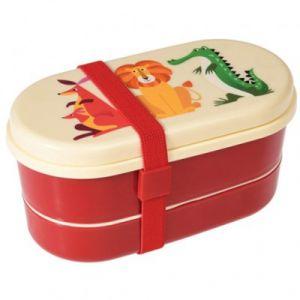 Rex London Lunch box ovale Créatures colorées