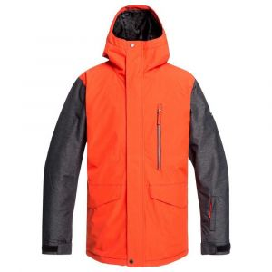 Quiksilver Mission - Veste de Snow - Homme - M - Orange