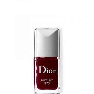 Dior 970 Nuit 1947 - Vernis haute couleur brillance et tenue effet gel