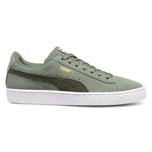 Puma Chaussures enfant Suede Classic vert - Taille 36