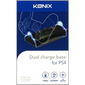 Konix Dual charge base pour PS4
