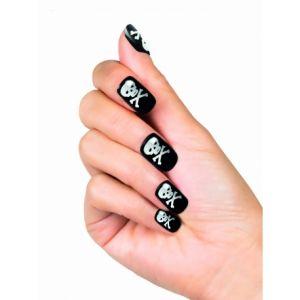 Faux ongles adhésifs pirate femme