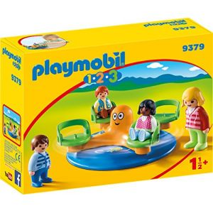 Playmobil 9379 - 1.2.3 : Enfants et manège