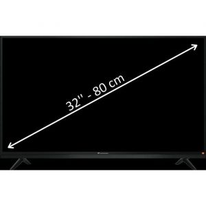 "Continental Edison CELED32JBL7 - Tv Led 80 cm (32"") avec barre de son"