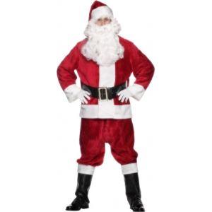 Smiffy's Déguisement Père Noël luxe adulte (taille unique)