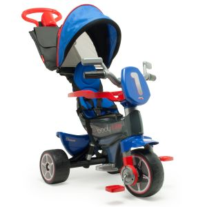 Injusa Tricycle Évolutif Body Max Denim - Bleu