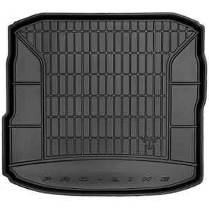 DBS Tapis de Coffre sur Mesure Caoutchouc 3D pour Audi A3 Berline des 02/2013 - Matière : caoutchouc TPE - Zones de rangement latérales - Nettoyage facile - Installation rapide