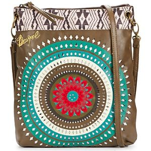 Desigual New Bag Flecos Verde - Sac à main