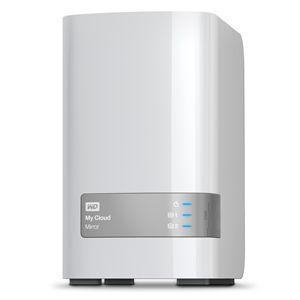 """Western Digital WDBWVZ0120JWT - Disque dur NAS My Cloud Mirror 12 To 3.5"""""""