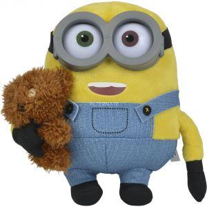 Simba Toys Peluche Bob avec nounours Les Minions