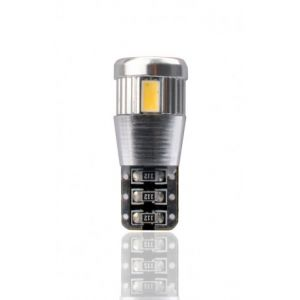 Habill-auto ampoule LED T10 W5W 12V canbus 6xSMD5730 blanc