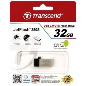 Transcend TS32GJF380 - Clé USB 2.0 JetFlash 380 OTG 32 Go