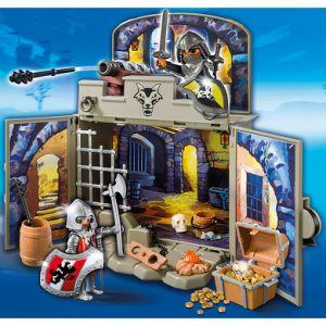 Playmobil 6156 Knights - La chambre du trésor des chevaliers