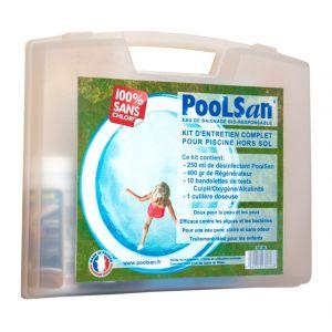 Poolsan Kit de traitement sans chlore pour piscine de 5 à 20 m³