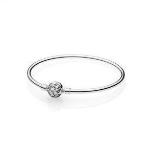 Pandora Bracelet 597137 - Jonc Moments Farandole de L'amour Femme