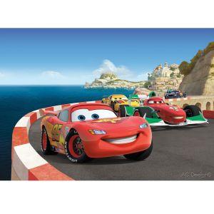 Papier peint Cars Europe Disney (180 x 255 cm)