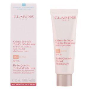 Clarins 04 Blond - Crème de soins teintée désaltérante multi-hydratante SPF 15