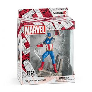 Schleich Figurine Marvel : Captain America