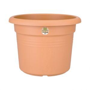 Elho Pot cylindrique rouge clair gamme green basics Ø 78 cm
