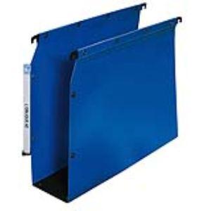 L'Oblique AZ Paquet de 10 dossiers suspendus Ultimate en polypropylène pour armoire (fond : 50 mm)