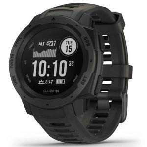 Garmin Instinct GPS Montre de sport (010-02064-10) - Graphite (Noir)