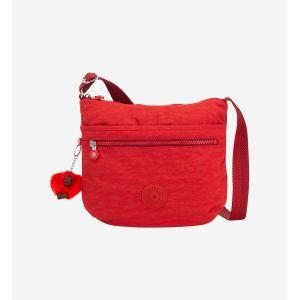 Kipling Arto, Sacs bandoulière femme, Rouge (Active Red)