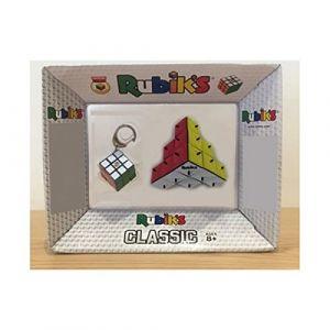 Win Games Pack Rubik's : Triamid  3 x 3 + porte-clés
