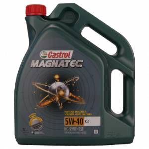 Castrol Magnatec 5w-40 C3 5 Litres Jerrycans - Neuf
