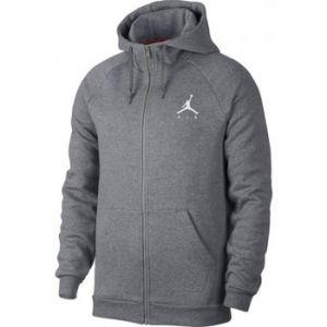 Nike Sweat à capuche entièrement zippé en tissu Fleece Jordan Jumpman Homme - Gris - Taille XS - Male