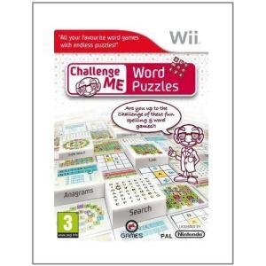 Challenge Me : Word Puzzles [Wii]