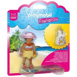 Playmobil 6886 Fashion Girl - Tenue de Plage