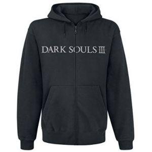 Dark Souls 3 Hoodie -M- You Died, schwarz