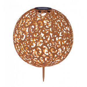 Globo Lumière solaire encastrable LED, décoratif, D 28,5 cm
