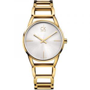Calvin Klein K3G23526 - Montre Femme - Quartz Analogique - Bracelet Acier Inoxydable Plaqué Doré