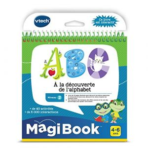 Vtech Magibook - ABC À la découverte de l'alphabet