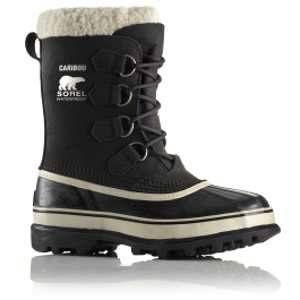 Sorel Caribou Black / Stone Woman Chaussures après-ski