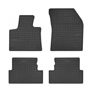DBS Tapis Sur Mesure en Caoutchouc pour Peugeot 3008 a Partir de 2016 - Jeu de 4 tapis sur mesure en caoutchouc - Bords en 3D - Compatible avec fixation d'origine - Poids : 5,5 kg
