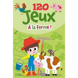 Editions Lito 120 Jeux à la Ferme Bloc d'Activités 5 à 7 ans