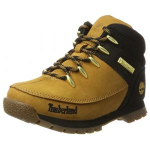 Timberland Euro Sprint Hiker, Bottes Chukka Enfant, Marron (Wheat), 33 EU