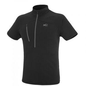 Millet T-shirts Elevation Zip S/s - Black - Noir - Taille S