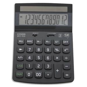 Citizen ECC 310 ECO - Calculatrice de bureau 12 chiffres