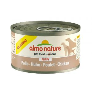 Almo Nature Nourriture Humide pour Chiens Classic Puppy Chicken