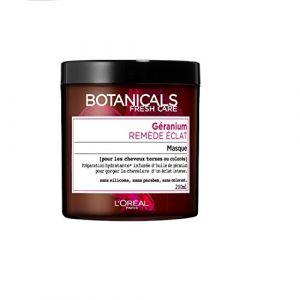 L'Oréal Botanicals Masque Soin Remède Eclat pour Cheveux Ternes / Colorés 200 ml