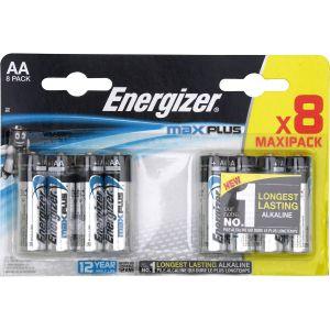 Energizer Pile LR06 (AA) alcaline(s) E301324600 Max Plus 1.5 V 8 pc(s)