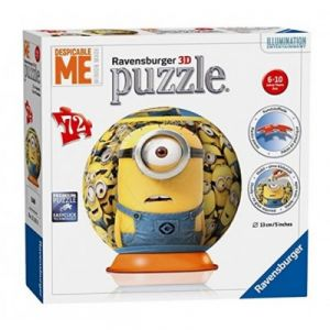 Ravensburger Puzzle 3D Minions 72 pièces