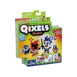 Kanaï Kids Mini Kits Qixels - Royaume Thème Guerrier Des Glaces