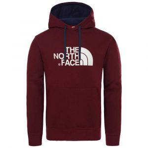 The North Face M Drew Peak Pullover Hoodie Deep Garnet Red Sweats
